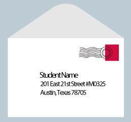 How to write dorm address